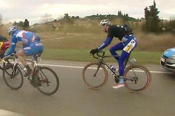 Etoile de Bessèges (Gard) - 1ère étape : victoire du Belge Sander Helven - 5 février 2014.