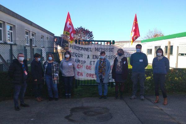 Les agents médico-sociaux des Hôpitaux de Chartres sont en grève illimitée depuis le 2 novembre.