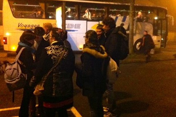 Le départ de Laval ce matin 6H45