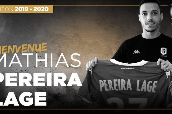 Mathias Pereira Lage quitte son club formateur pour rejoindre le SCO d'Angers. Un contrat de 3 ans pour un transfert avoisinant les 2 millions d'euros.