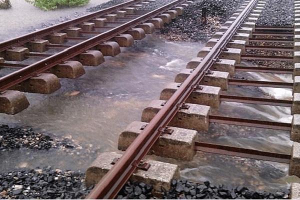 La voie ferrée n'était plus fiable