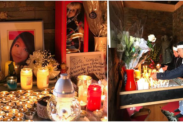 Une cérémonie d'hommage est donnée pour Sophie Le Tan en la pagode bouddhiste de la Robertsau.