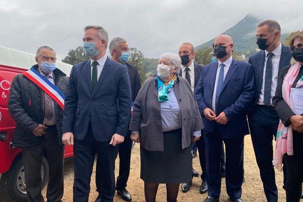 Ce mardi 27 avril, la ministre de la Cohésion des territoires, Jacqueline Gourault, et le secrétaire d'Etat en charge du tourisme, Jean-Baptiste Lemoyne, entament leur second jour de visite en Corse.