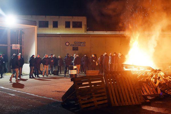 A la prison de Longuenesse, où deux surveillants se sont fait agresser dimanche soir. (archive)