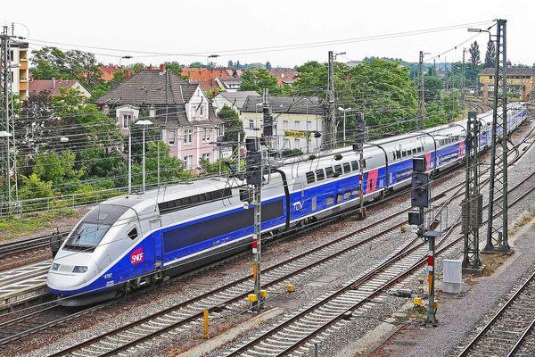 Le TGV devrait faire son apparition en gare d'Amiens dès 2025.