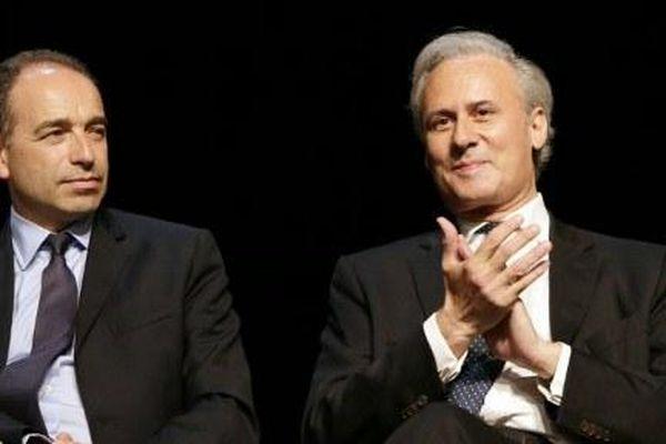 Georges Tron (à droite) avec Jean-François Copé