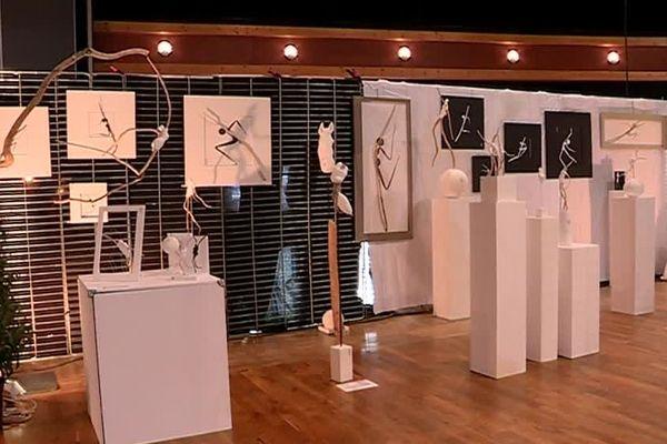 Le salon a réuni des sculptrices, des peintres, des pâtissières, ou encore des créatrices de mode