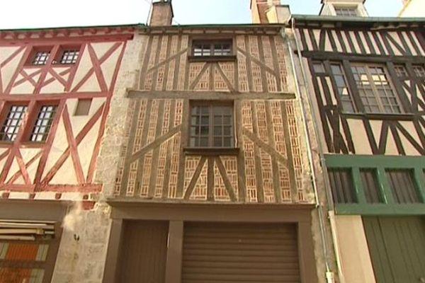 Maison du centre historique d'Orléans