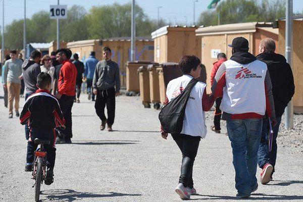 Le camp humanitaire de Grande-Synthe, ouvert en mars dernier, accueille aujourd'hui quelques 800 migrants