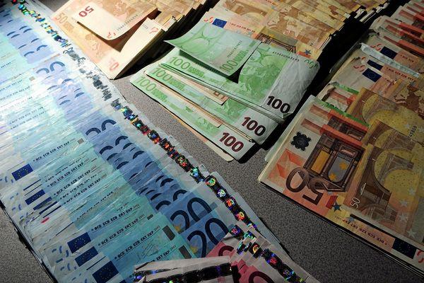 Les gendarmes ont pu mettre la main sur 6.000 euros.