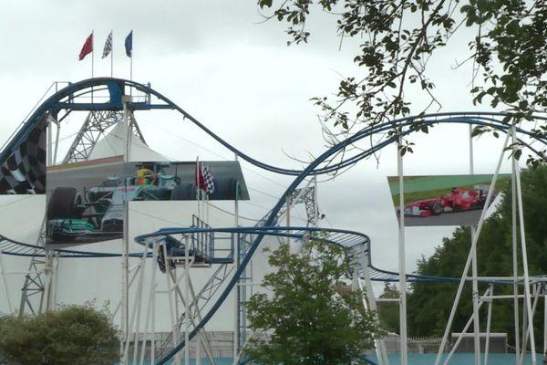 C'est en chutant de ce manège du parc Saint-Paul dans l'Oise, le Coaster formule 1, qu'une mère de famille de 32 ans est morte dimanche 4 juillet.
