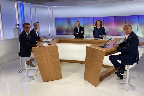 Toulouse - le débat des Départementales en Aveyron - 16 juin 2021.