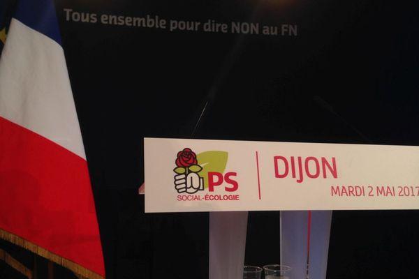 Un meeting pour appeler à voter Emmanuel Macron au 2e tour de la présidentielle est organisé à Dijon mardi 2 mai 2017