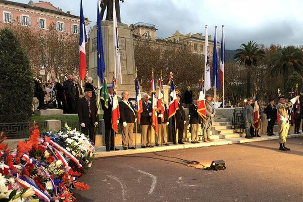 11/11/2018 - Cérémonie du 11 novembre à Bastia (Haute-Corse)  pour le centenaire de l'armistice