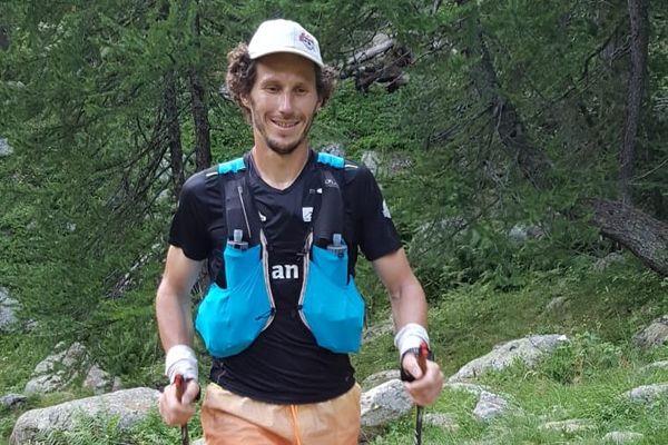 Christophe Tieran a avalé près de 7000 mètres de dénivelé en moins de 24 heures.