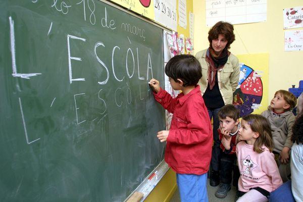 Ecole en langue Occitane à Toulouse. Photo d'archives.