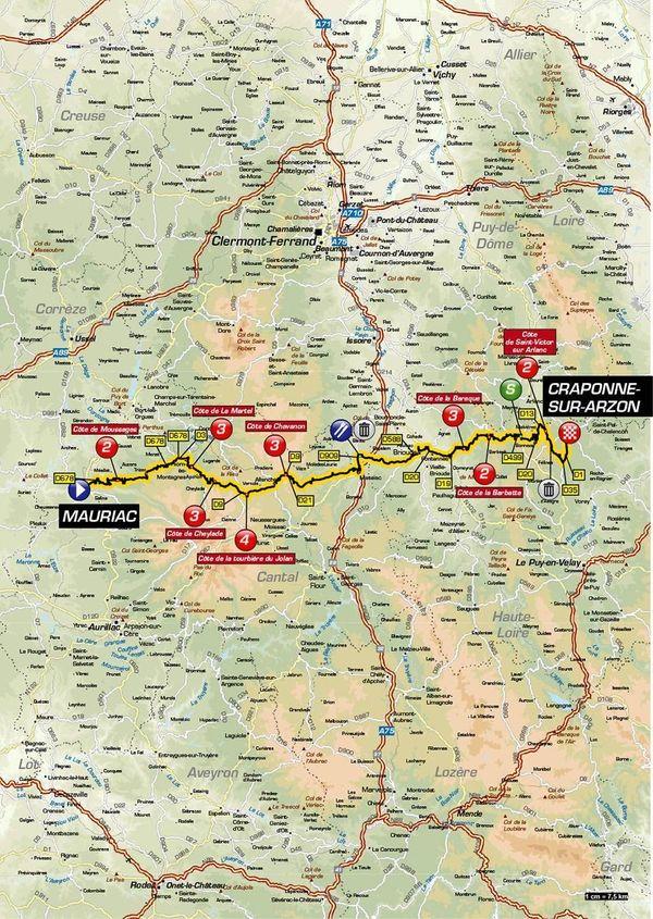 Critérium du Dauphiné 2019 : le parcours de la 2e étape