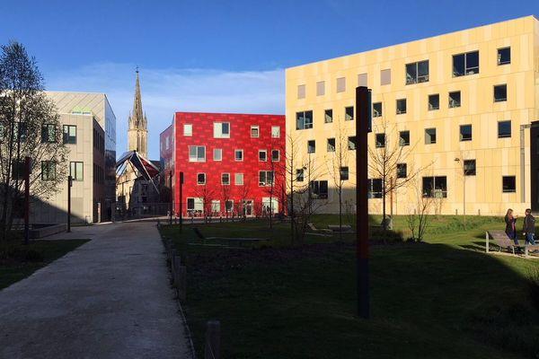 Le bâtiment de l'Alliance ARTEM à Nancy regroupe l'Ecole nationale supérieure d'art et de design de Nancy, Mines Nancy, et l'ICN Business School.