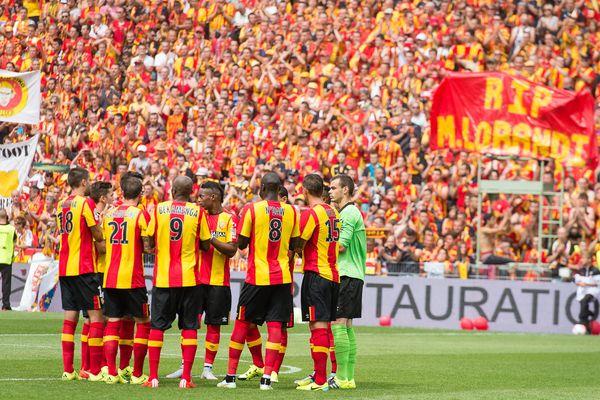La vague Sang et Or pour le retour du RC Lens à Bollaert samedi 8 août face au Red Star (1-1)
