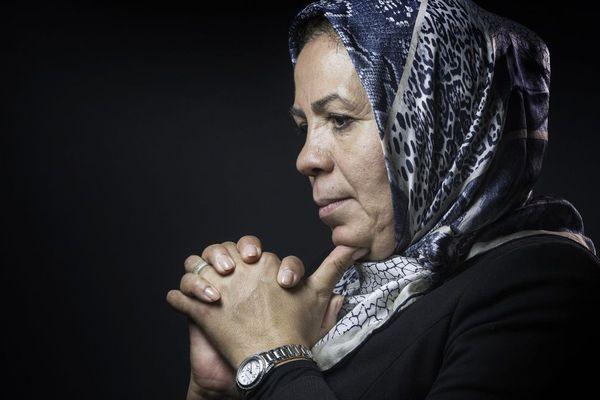 latifa Ibn Ziaten prise en photo le 25 janvier 2016 à Paris.