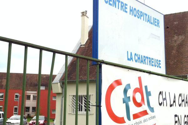 Le CHS de la Chartreuse à Dijon, en grève ce mercredi 23 septembre
