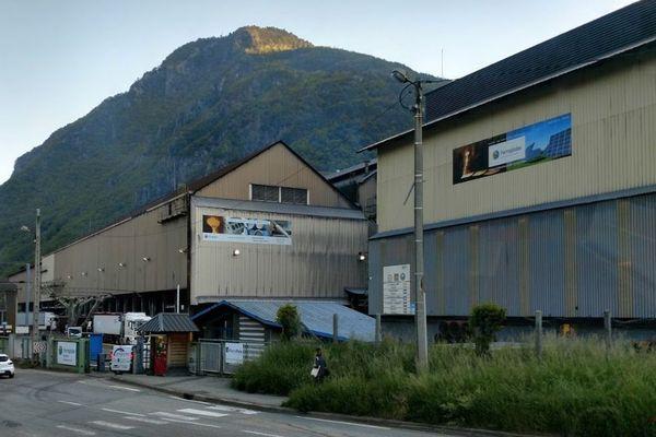 Entreprise Ferropem à La Léchère, Savoie