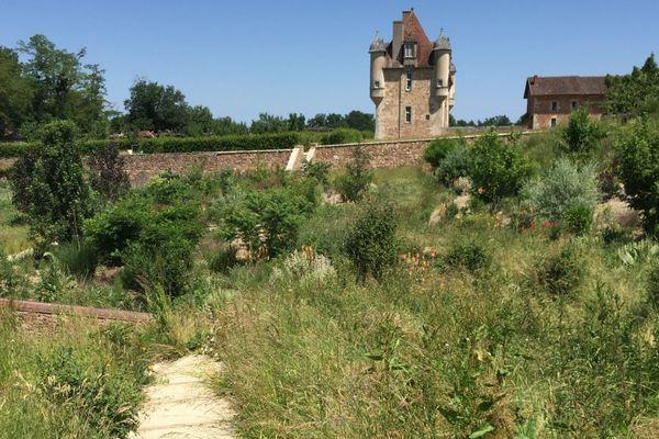 Le château de la Borie à Solignac, aujourd'hui en friche