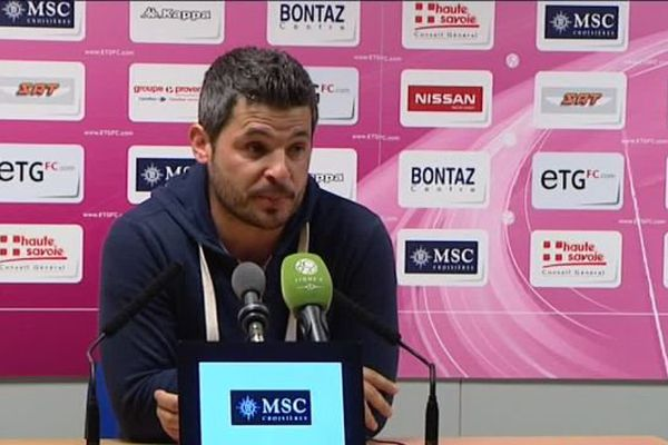 Romain Revelli, entraîneur ETG