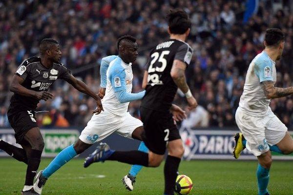 Olympique de Marseille - Amiens SC lors de la 25e journée de Ligue 1 le 16 février 2019
