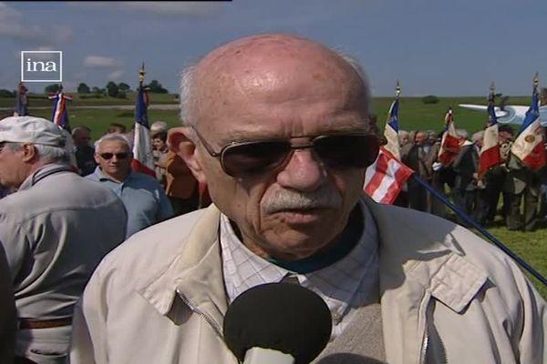 Martin Smith était âgé de 22 ans en 1944  lorsque son avion avait atterri en catastrophe à Avoudrey