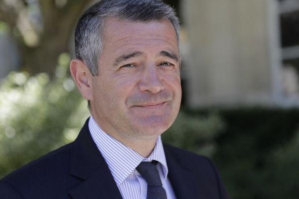 Franck Marlin (LR) a été réélu à Etampes (Essonne). (Photo prise en 2017).