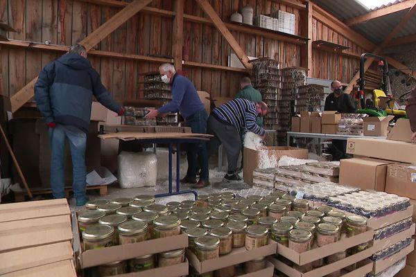 Atelier d'aide par le travail de l'ESAT - l'Arche les trois fontaines - à Ambleteuse (62)