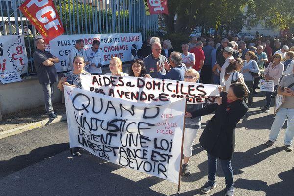 Le rassemblement contre la loi travail a rassemblé 300 personnes.