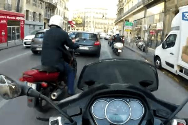 A Marseille, 86.000 personnes circulent en deux-roues