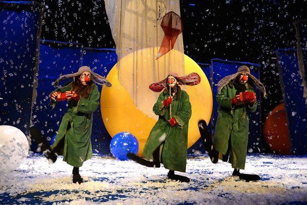 Slava's Snow Show  :  le clown Slava Polunin et ses compagnons les Greenz