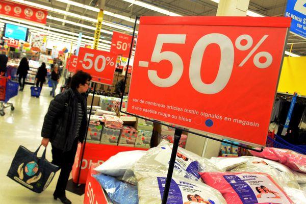 Jour de soldes à Toulouse. En ce mois de janvier 2021, les commerces de Haute-Garonne resteront ouverts