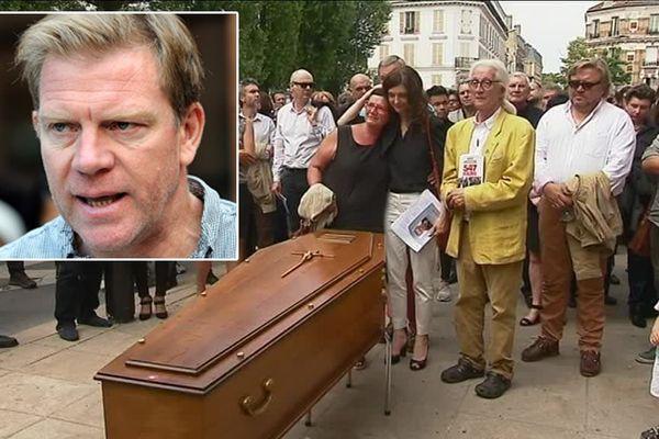 Hervé Ghesquière a été inhumé ce mardi à Meudon, en région parisienne