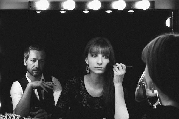 """Das Kinø """"duo de musique à la fois cinématographique, électronique, pop, parfois sexy et parfois extatique"""""""