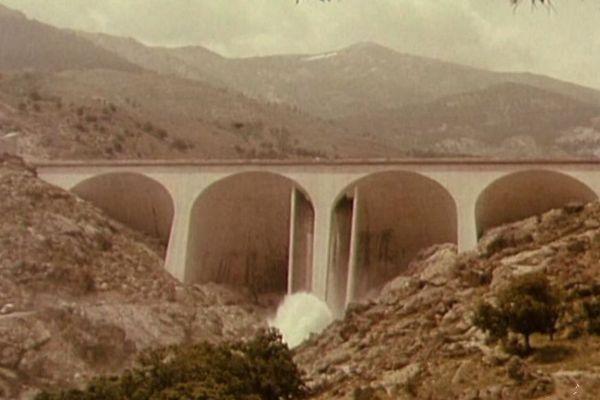 29/06/2018 - Le barrage de Calacuccia (Haute-Corse) fête 50 ans de production électrique.