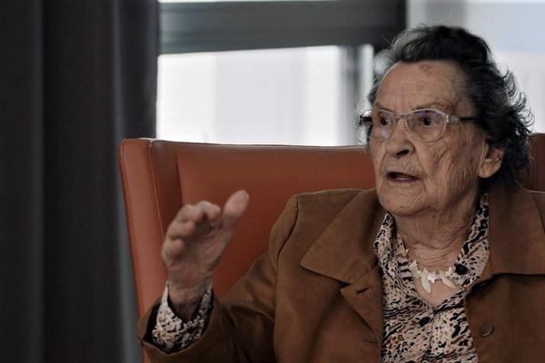 Ginette James, résistante de La Chapelle-sur-Erdre