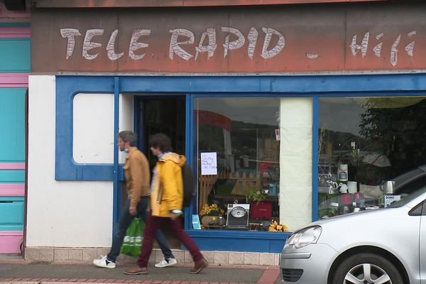 La boutique Télé Rapid à Mers-les-Bains victime en août 2021 d'usurpation d'identité