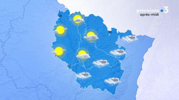 La perturbation neigeuse s'évacue par l'Est de la Lorraine