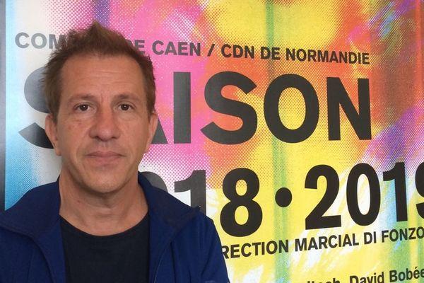 Marcial Di Fonzo Bo, directeur de la comédie de Caen, centre dramatique national de Normandie