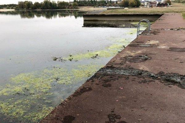 Un corps a été retrouvé au lac d'Auron à Bourges (Cher) - 25 octobre 2018