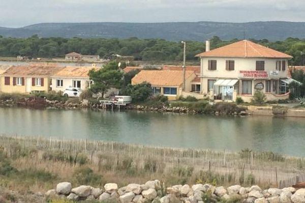 Les cabanes des Aresquiers, à Frontignan, dans l'Hérault.