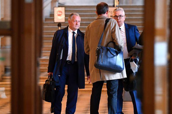 Le président de l'Olympique Lyonnais, Jean-Michel Aulas, a plaidé la reprise de la saison de Ligue 1 de football 2019/2020 devant le Conseil d'Etat le 4 juin.