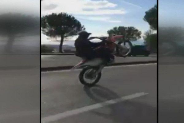 Rodéo sauvage dans les rues de Marseille
