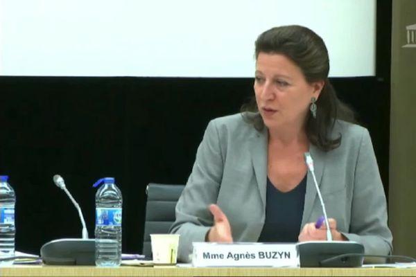 Agnès Buyzin, ex-ministre de la santé devant la commission d'enquête de l'Assemblée Nationnale le mardi 30 juin 2020