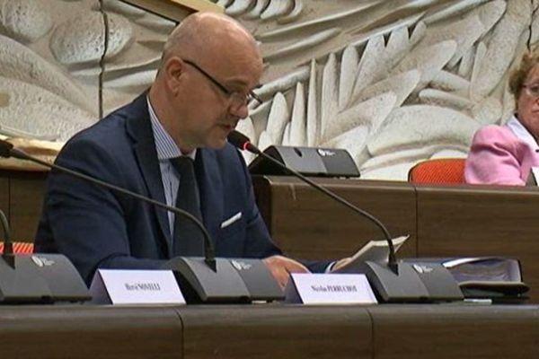 Nicolas Perruchot LR, vice-président du conseil départemental Loir-et-Cher