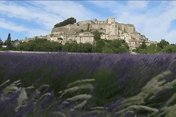 La Drôme, terre de lavande ... (Château de Grignan - juillet 2015)